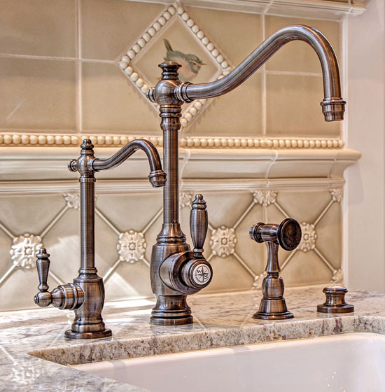 Waterstone Annapolis kitchen tap suite