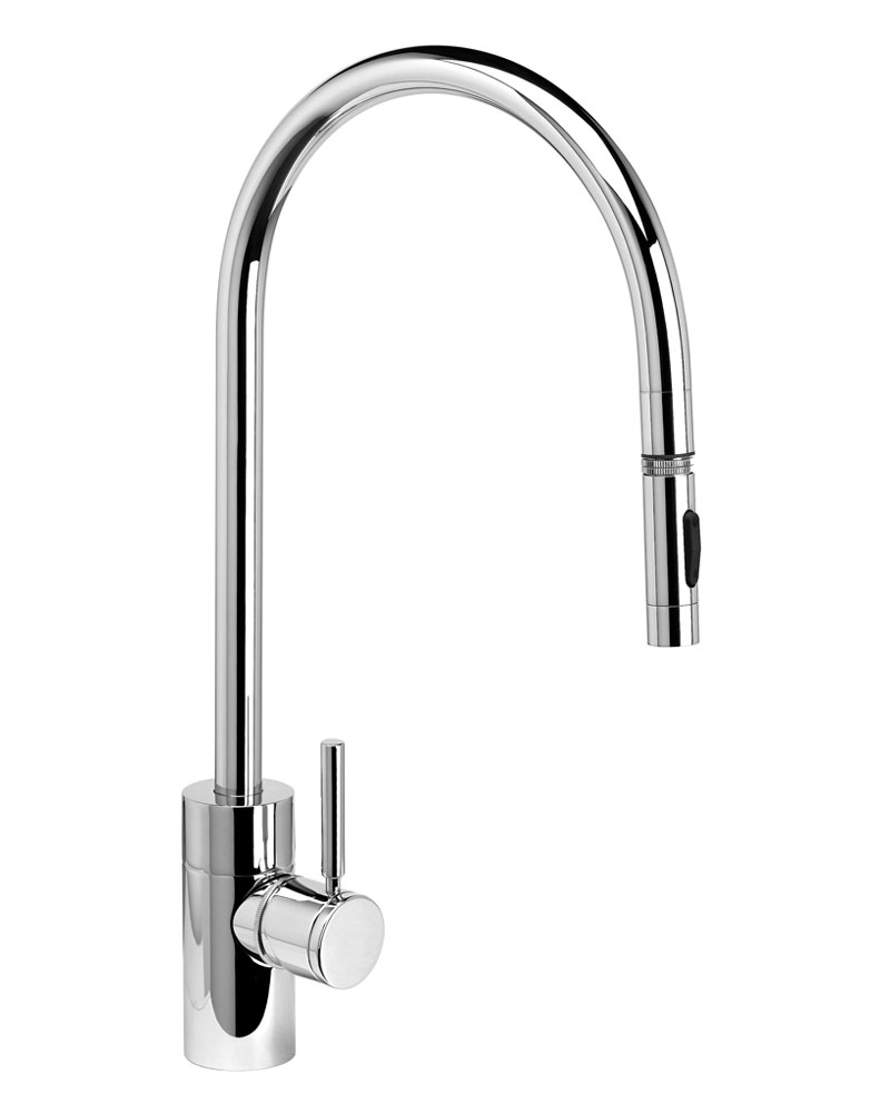 Contemporary PLP Extended Reach Pull Out Mixer Tap | Waterstone ...