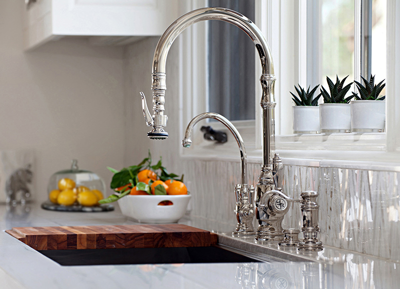Traditional Plp Pull Out Tap Waterstone Luxury Kitchen Taps