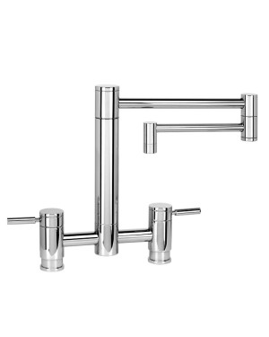 "Waterstone Hunley Bridge Tap - 18"" Spout 7600-18"