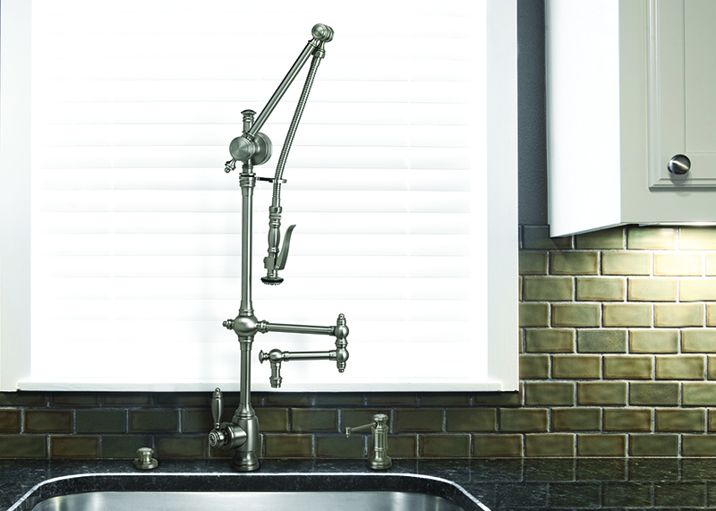 Traditional Gantry Pull Out Tap 12 Articulated Spout